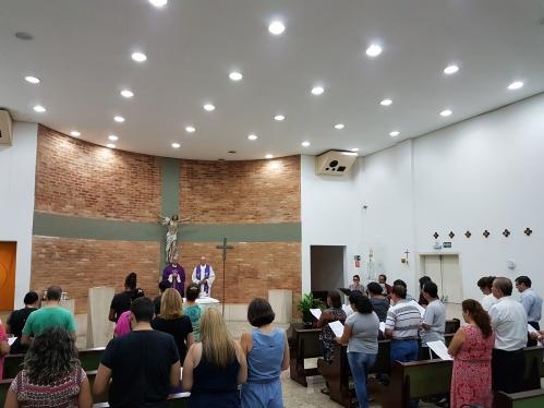 Abertura do ano letivo da Escola de Teologia para Leigos do Centro de Formação Pastoral Frei Galvão