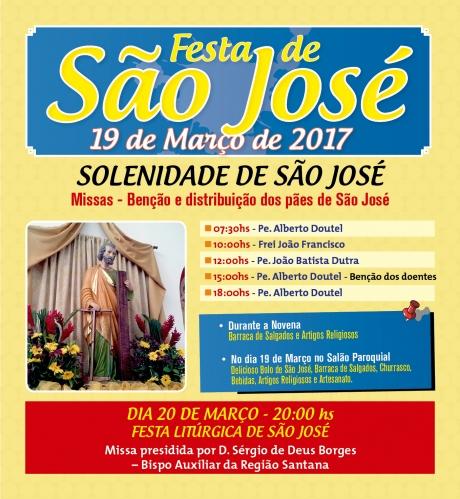 Festa de São José - Paróquia São José Operário - Setor Imirim