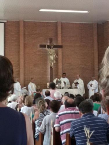 Padre Chapron celebra jubileu sacerdotal