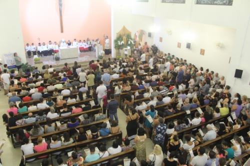 A Região episcopal Santana Celebra com uma grande participação a solenidade  São José, esposo de Maria, no passado 19 de Março