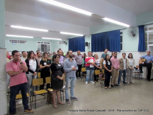 Paróquia Santa Rita realiza o 134º ECC