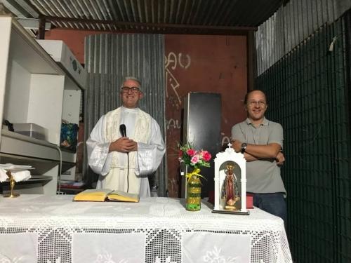 """Missa na """"Comunidade Nossa Senhora Aparecida"""""""