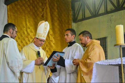 Posse do Pe. Padre Antônio Lima na Paróquia Nossa Senhora da Piedade