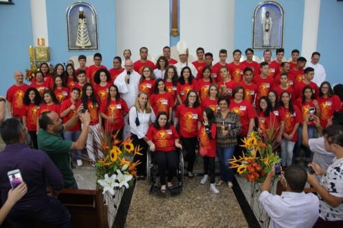 Dom Sérgio de Deus Borges confirmou 54 jovens e adultos