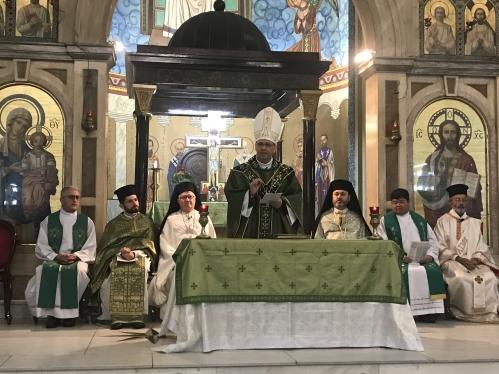 Dom Sergio é apresentado à comunidade Greco-Melquita