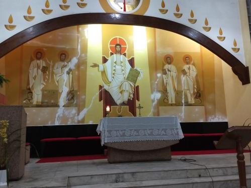 Restauração da Paróquia Santo Antônio do Laussane