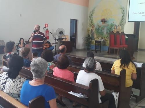 Assembleia paroquial do I Sínodo Arquidiocesano de São Paulo