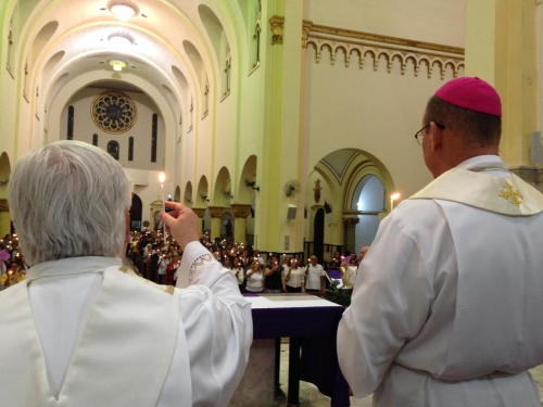 Celebração de envio das Comissões paroquias para implementação da Iniciação à Vida Cristã