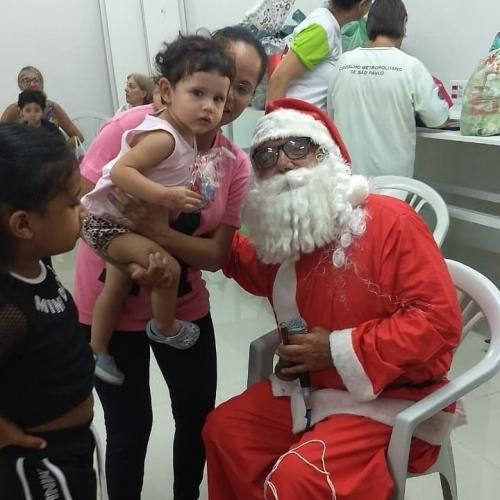 Festa de Natal com a Pastoral da Criança e os Vicentinos da Paróquia São Domingos Sávio