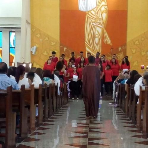 A Celebração de domingo 16 marcou o encerramento atividades do CEDESP SÃO BENEDITO