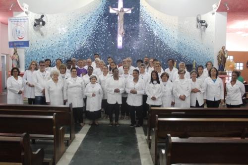 Missa de envio dos novos Ministros da Eucaristia