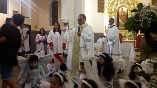 Missa em agradecimento aos seus 17 anos de padre