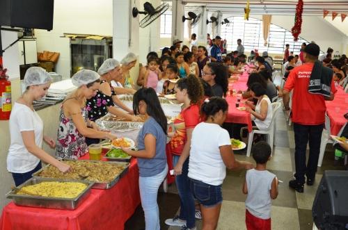 Pastoral das Crianças e os Samaritanos da Paróquia Jesus no Horto das Oliveiras