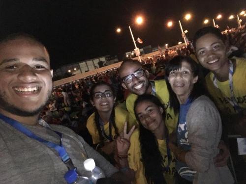 13 jovens participaram da Jornada Mundial da Juventude