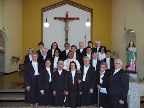 Irmã Francisca Lucielma S. Rodrigues, celebrou sua Primeira Profissão Religiosa