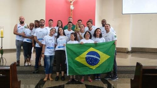 Jovens paroquianos são enviados para participarem da JMJ no Panamá