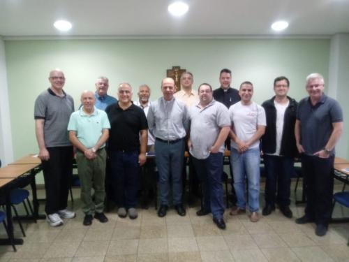 Dom Sérgio de Deus Borges se reuniu com os Padres coordenadores de Setor, na Cúria regional de Santana