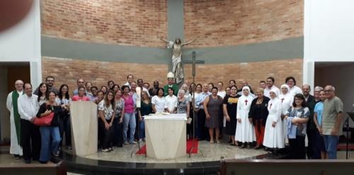 Missa de início do ano letivo do Centro de Formação Pastoral Frei Galvão