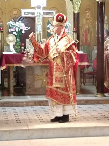 Celebração das exéquias de Jesus na Eparquia Nossa Senhora do Paraíso