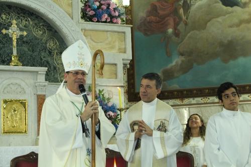 Missa de encerramento da novena de Nossa Senhora Auxiliadora