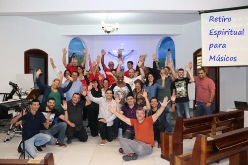 Retiro Espiritual para Músicos da Paróquia Jesus no Horto das Oliveiras