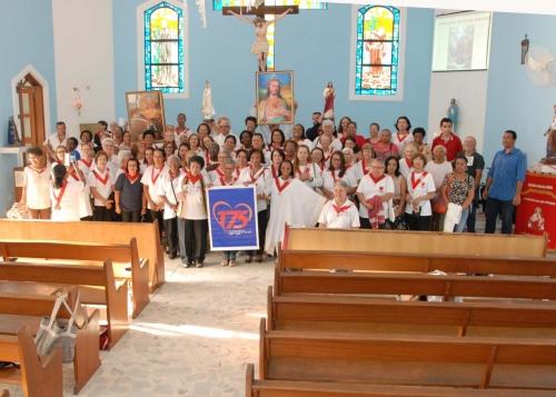 Capela Imaculada Conceição do CTN celebrou 22 anos de Saudades do Frei Damião