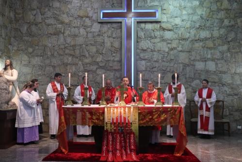 Celebração da Santa Missa da Vigília de Pentecostes