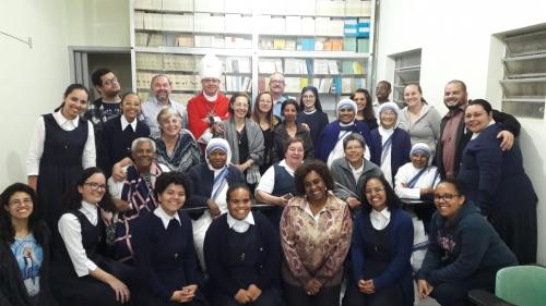 Missa em ação de graças pelos 41 anos de fundação da Obra Vocacional de Maria