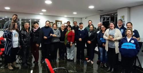 Apresentação da nova equipe de Coordenação da Pastoral Familiar da Região
