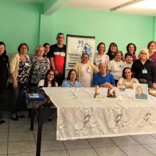 Pastoral da Pessoa Idosa realizou formação para líderes da Paróquia Santa Luzia