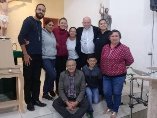 Capela São João Evangelista recebe a visita de Dom Jorge Pierozan