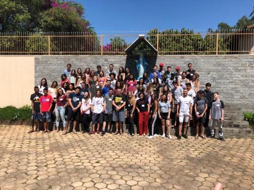 Encontro de Jovens com Cristo na Casa de Cursilhos Mater Dei em Campo Limpo Paulista