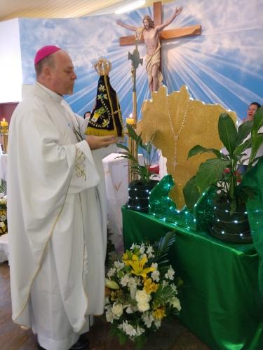 No sábado dia 12 - Festa da padroeira do Brasil