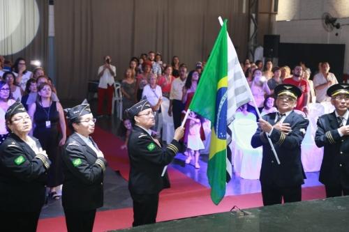 A paróquia realizou seu sexto evento comemorando o dia internacional da pessoa idosa