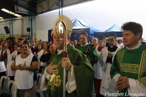 Missa de encerramento da IV Concentração missionaria do Setor Pastoral Medeiros