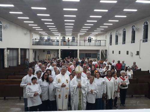 Dom Jorge Pierozan celebrou a Santa Missa do Sagrado Coração de Jesus