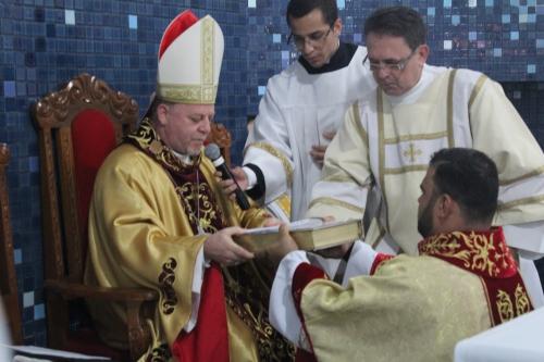 Foi empossado como pároco o Padre Silvano Alves dos Santos, MSJ