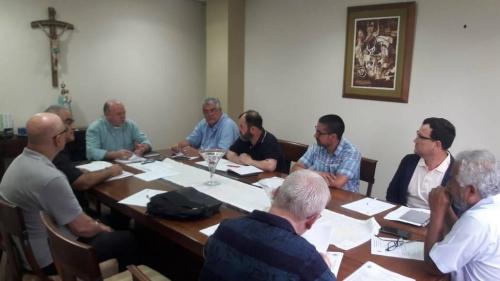 Reunião sobre projeto da Iniciação a Vida Cristã