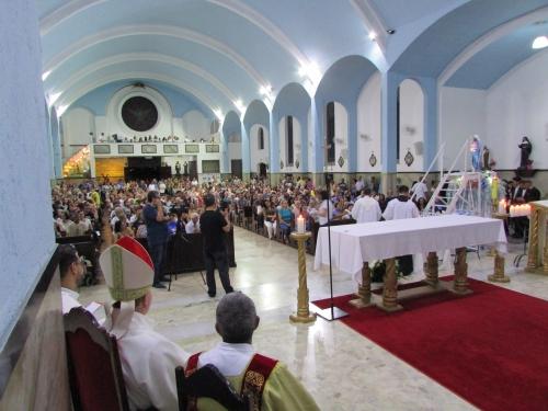 Foi apresentado o novo Vigário Paroquial Padre Antônio
