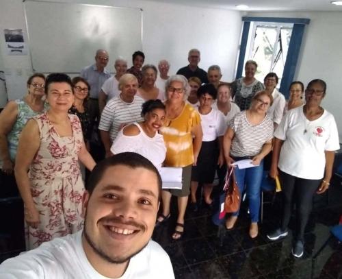 Os coordenadores paroquiais da Rede Mundial de Oração do Papa reuniram-se